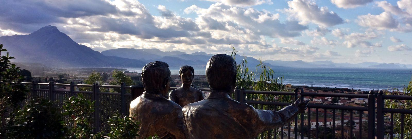 Veduta dal belvedere