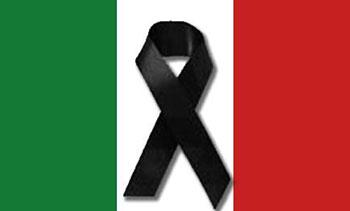 Avviso: 27 Agosto 2016 – Giornata di Lutto Nazionale