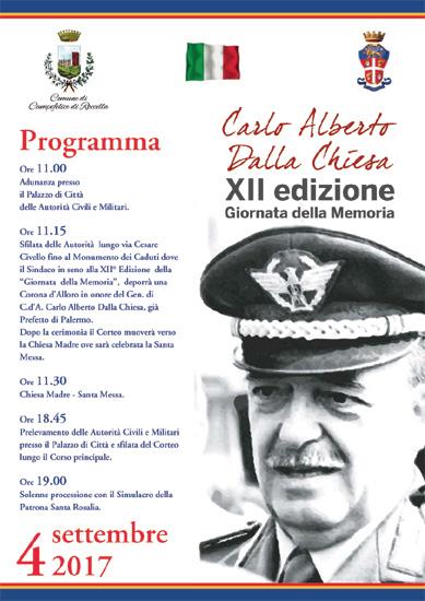 Carlo Alberto Dalla Chiesa - Giornata della Memoria