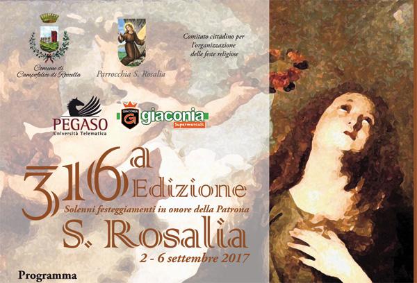 Programma Santa Rosalia 2017